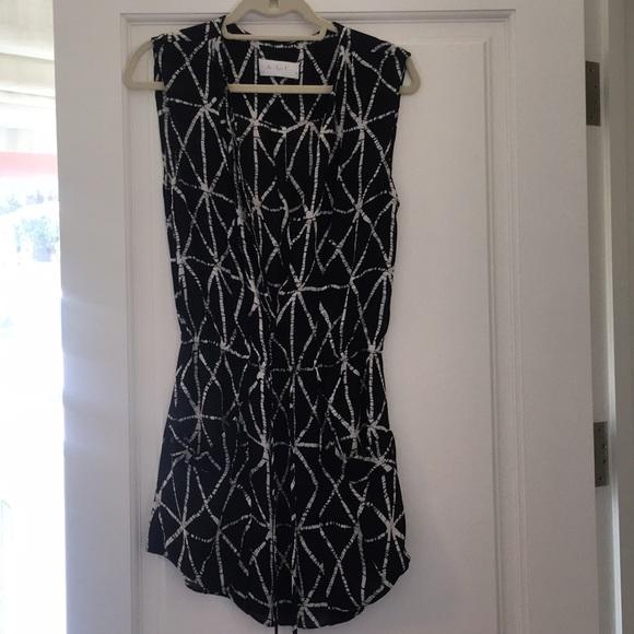 A.L.C. Dresses & Skirts - ALC Drawstring Satin Dress